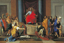 The Judgement of Solomon by Nicolas Poussin