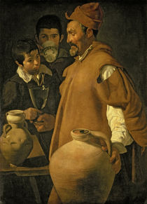 The Water Seller of Seville von Diego Rodriguez de Silva y Velazquez