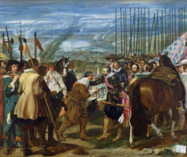 The Surrender of Breda von Diego Rodriguez de Silva y Velazquez