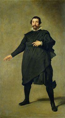 Pablo de Valladolid von Diego Rodriguez de Silva y Velazquez