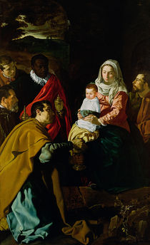 Adoration of the Kings von Diego Rodriguez de Silva y Velazquez