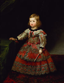 The Infanta Maria Margarita  von Diego Rodriguez de Silva y Velazquez