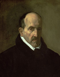 Portrait of Don Luis de Gongora y Argote  von Diego Rodriguez de Silva y Velazquez