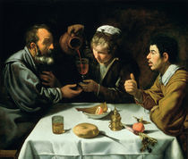 The Lunch von Diego Rodriguez de Silva y Velazquez