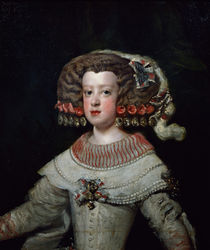 Portrait of the Infanta Maria Teresa  von Diego Rodriguez de Silva y Velazquez