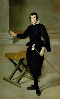 The Buffoon Juan de Calabazas  by Diego Rodriguez de Silva y Velazquez