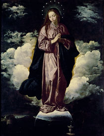 The Immaculate Conception von Diego Rodriguez de Silva y Velazquez