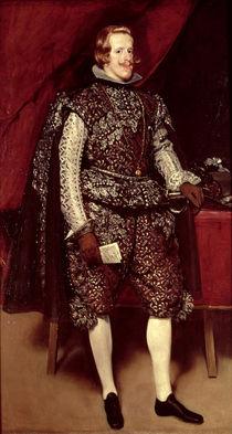 Philip IV  von Diego Rodriguez de Silva y Velazquez