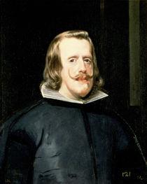 Portrait of Philip IV  von Diego Rodriguez de Silva y Velazquez