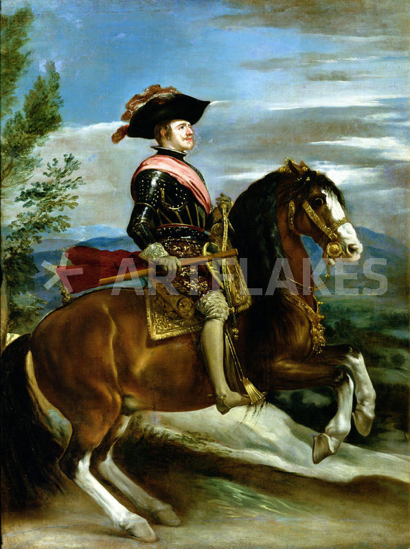"""""""Equestrian Portrait of King Philip IV of Spain """" Picture ..."""