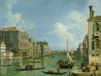 View of the Grand Canal  von Canaletto