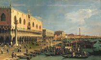 Palazzo Ducale and the Riva degli Schiavoni by Canaletto
