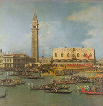 View of the Palace of St Mark von Canaletto
