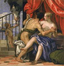 Mars and Venus  von Veronese