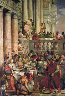 The Marriage Feast at Cana von Veronese