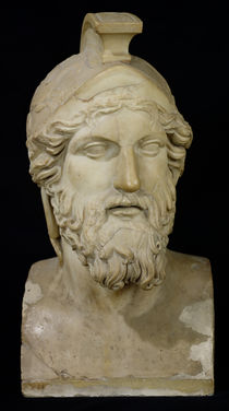 Bust of Miltiades  von Greek