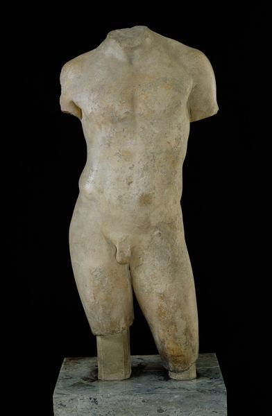 """?Nude male torso """". by Greek. Picture ID: e242a13. Description:"""
