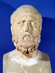 Bust of Zeno of Citium  von Greek