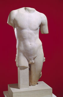 Torso of a young man by Greek