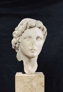 Head of Alexander the Great  by Greek