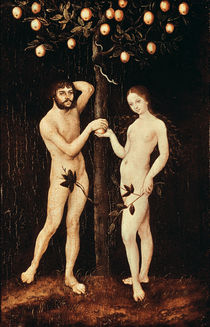 Adam and Eve  von the Elder Lucas Cranach