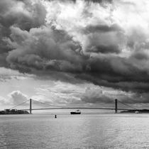 Verrazano Narrows Bridge by Frank Stettler