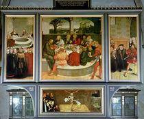 Triptych by the Elder Lucas Cranach