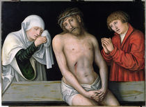 Christ as the Man of Sorrows with the Virgin and St. John  von the Elder Lucas Cranach