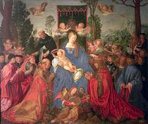 Garland of Roses Altarpiece by Albrecht Dürer