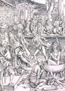 The Torture of St. John the Evangelist by Albrecht Dürer