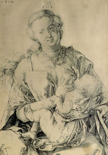 Virgin Mary suckling the Christ Child by Albrecht Dürer