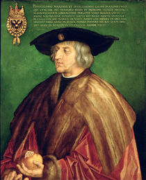 Emperor Maximilian I  by Albrecht Dürer