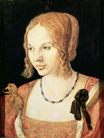 Young Venetian Woman  by Albrecht Dürer