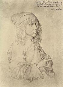 Self portrait at the age of thirteen by Albrecht Dürer