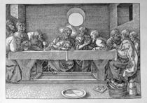 The Last Supper by Albrecht Dürer