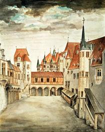 Castle Courtyard by Albrecht Dürer