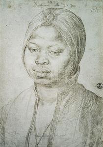 Portrait of Catherine von Albrecht Dürer