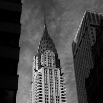 Chrysler Building from Lexington Avenue III by Frank Stettler