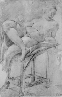Model of Evening  by Michelangelo Buonarroti