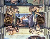 Sistine Chapel Ceiling: Creation of Eve by Michelangelo Buonarroti