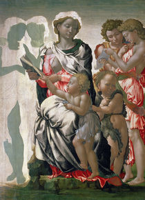 Madonna and Child with St. John by Michelangelo Buonarroti