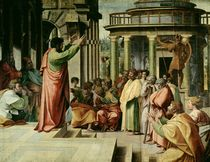St. Paul Preaching at Athens  by Raphael