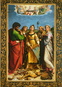 St. Cecilia surrounded by St. Paul von Raphael