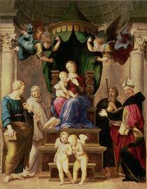 Madonna of the Baldacchino  von Raphael