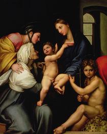 Madonna dell'Impannata  von Raphael