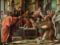 The Blinding of Elymas  von Raphael