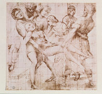 Study for the 'Entombment' in the Galleria Borghese von Raphael