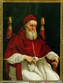 Portrait of Pope Julius II  by Raphael