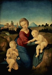 The Esterhazy Madonna by Raphael