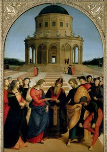 The Marriage of the Virgin von Raphael